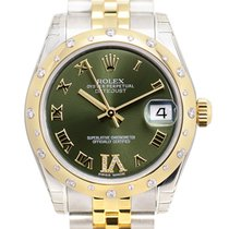 勞力士 (Rolex) Lady Datejust Gold And Steel Green Automatic...