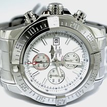 Breitling Chronograph 48mm Automatic new Super Avenger II White