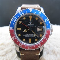 劳力士  GMT MASTER 1675 Pepsi with Pumpkin Patina