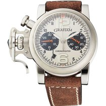 Graham CHRONOFIGHTER R.A.C FIGHTER / STEEL CASE 2CRBS.S01A.L81B