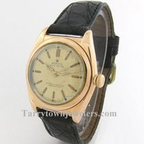 Rolex Bubble Back pre-owned 32mm Rose gold