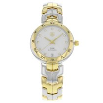 TAG Heuer Link Lady Gold/Steel 34mm Silver Roman numerals United States of America, New York, New York