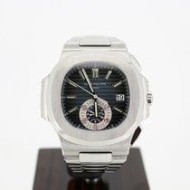 Patek Philippe Nautilus Steel 40.5mm Blue No numerals United Kingdom, london