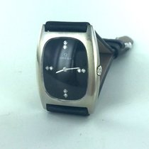 Omega White gold Manual winding Black No numerals 27mm pre-owned