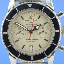Breitling A23370 Steel 2013 Superocean Héritage Chronograph 44mm pre-owned