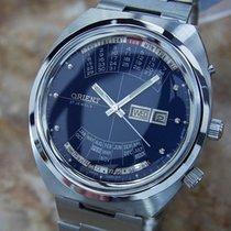 Orient Rare 1970s Made in Japan Men's Full Calendar Automatic...