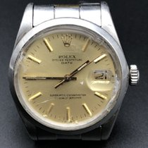 Rolex 34mm Automatika 1978 použité Oyster Perpetual Date Stříbrná