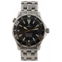 Omega Seamaster Diver 300 M Steel 36mm Black United States of America, New York, New York