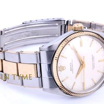 Rolex Gold/Steel 34mm Manual winding Oyster Perpetual pre-owned