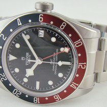 Tudor 79830RB Aço Black Bay GMT 41mm novo