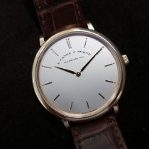 A. Lange & Söhne Saxonia Rose gold 40mm Silver No numerals United States of America, Illinois, Chicago