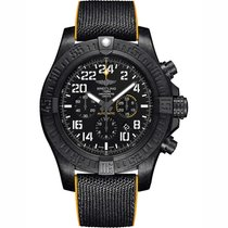Breitling Automatic Black 45mm new Avenger Hurricane