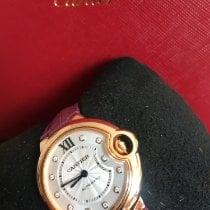 Cartier neu Automatik 33mm Roségold Saphirglas