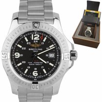 Breitling Colt Quartz Steel 44mm Black Arabic numerals United States of America, New York, Massapequa Park