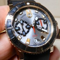 Ulysse Nardin Maxi Marine Diver Rose gold 42.7mm Silver United States of America, North Carolina, Winston Salem