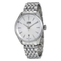 Oris Artix Date Steel 39mm Silver Arabic numerals United States of America, Connecticut, Shelton