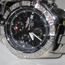 Breitling Super Avenger II Steel 48mm Black No numerals United States of America, New York, NEW YORK CITY