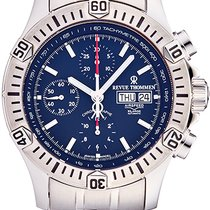 Revue Thommen Airspeed - X Large Staal Blauw