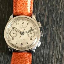 Rolex Chronograph Acier 33mm Noir Arabes France, Paris