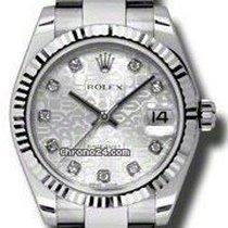 Rolex Datejust, Ref. 178274 - silber Jubi Diamant ZB/ Oysterband