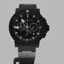 Ulysse Nardin Watches: 353-92-3C Marine Diver Chronograph Bl