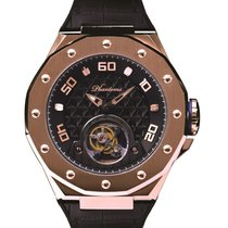 Phantoms new Manual winding Display Back Limited Edition PVD/DLC coating 48mm Steel Sapphire Glass