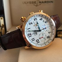 Ulysse Nardin Marina Annual Chronograph Big Date Rose Gold 40 mm