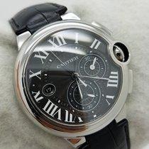 Cartier Ballon Bleu Chronograph 3109 W6920052 Black Steel 44mm...