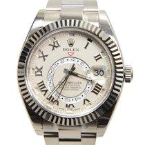 勞力士 (Rolex) Sky-dweller 18k Platinum White Automatic 326939