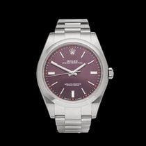 Rolex Oyster Perpetual Grape Stainless Steel Gents 114300 -...