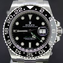 Rolex GMT-Master II Steel, Ceramic Black Dial Full Set 40MM