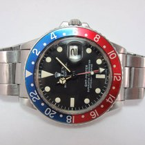 Rolex 1971 Unpolished GMT-Master Pepsi 1675 with Maxi Dial
