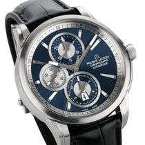 Maurice Lacroix Pontos Chronographe neu 2020 Automatik Chronograph Uhr mit Original-Box und Original-Papieren PT6188-SS001-430-1