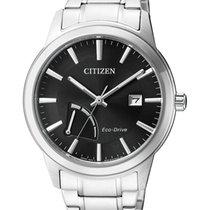 Citizen Steel 40mm Black No numerals