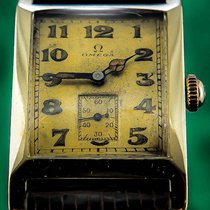 Omega 39mm Manual winding 1935 pre-owned Gold