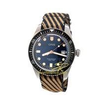 Oris Divers Sixty Five 01 733 7720 4035-07 5 21 13 ORIS DIVERS SIXTY FIVE Blu Retrò new