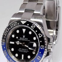 劳力士  Rolex GMT-Master II Black/Blue Mens Ceramic Steel...