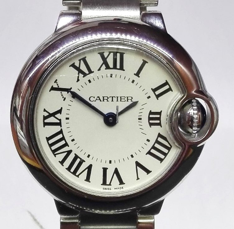821e237a60a Cartier Ballon Bleu 28mm por 2.600 € para vender por um Trusted Seller na  Chrono24