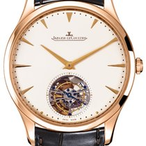 Jaeger-LeCoultre Master Ultra Thin Tourbillion Rose gold 40mm No numerals United States of America, New York, New York