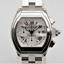 f86f11c9652 Cartier Roadster Chronograph XL - 2 pulseiras Completo for £4