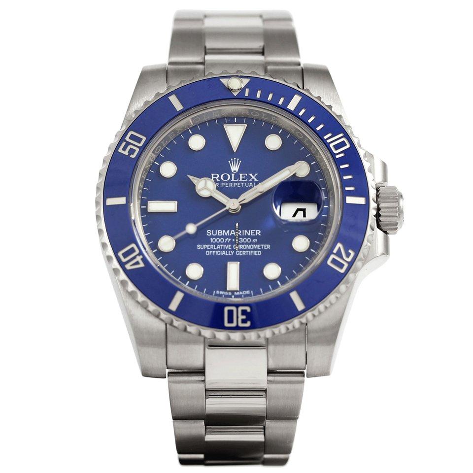 789a3c59922 Rolex Submariner Date Ouro branco - Todos os preços de relógios Rolex  Submariner Date Ouro branco na Chrono24