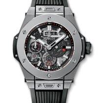 Hublot Big Bang Meca-10 nuevo Cuerda manual Reloj con estuche y documentos originales 414.NI.1123.RX