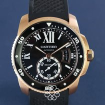 Cartier Calibre de Cartier Diver gebraucht Roségold