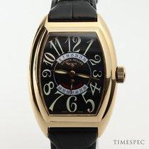 Franck Muller Conquistador Rose gold 35mm Black United Kingdom, London