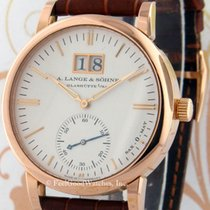 A. Lange & Söhne Red gold Automatic Silver 37mm pre-owned Langematik