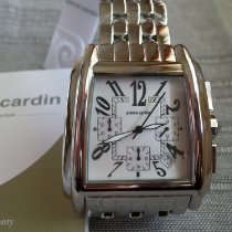 Pierre Cardin Steel 40mm Quartz new
