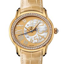 Audemars Piguet Yellow gold Automatic 39.5mm pre-owned Millenary Ladies