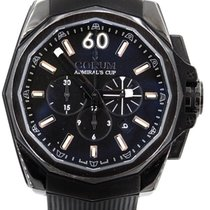 Corum Admiral's Cup Challenger Steel 45mm Black United States of America, Illinois, BUFFALO GROVE