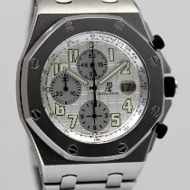Audemars Piguet Royal Oak Offshore Chronograph Acier 42mm Argent Arabes France, Cannes