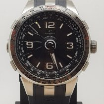 Perrelet Turbine Pilot Steel 48mm Black Arabic numerals